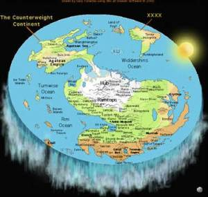 Another myth: Flat Earth